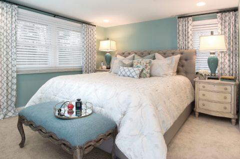 卧室细节混搭风格装修效果图