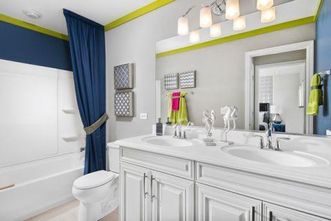 卫生间细节混搭风格装饰效果图
