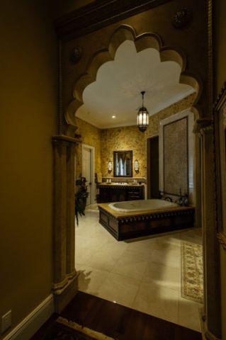 卫生间门厅混搭风格效果图
