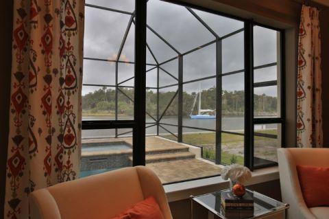 卧室窗台混搭风格装修设计图片