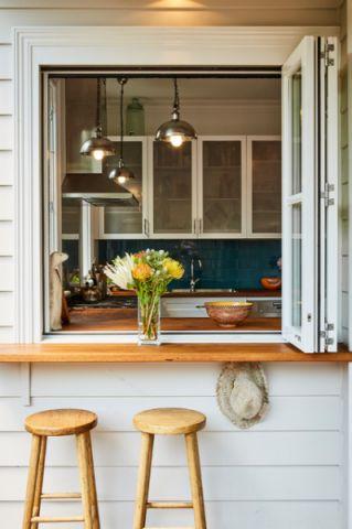 阳台窗台混搭风格装饰设计图片