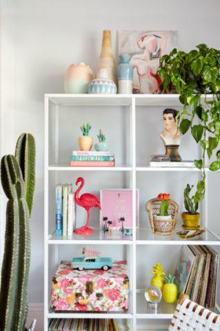 客厅细节混搭风格装潢图片