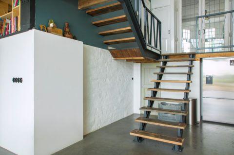 厨房楼梯混搭风格装修设计图片