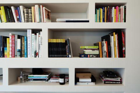 书房白色细节现代风格装潢图片