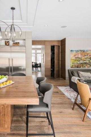 厨房白色细节现代风格装潢设计图片