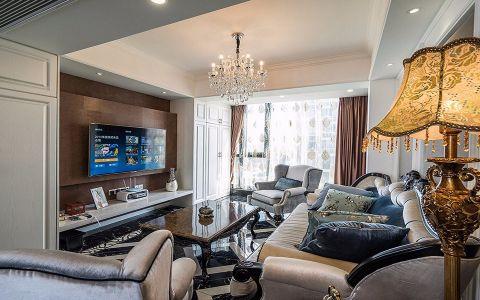2018欧式100平米图片 2018欧式二居室装修设计