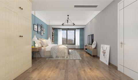 卧室照片墙北欧风格装饰图片