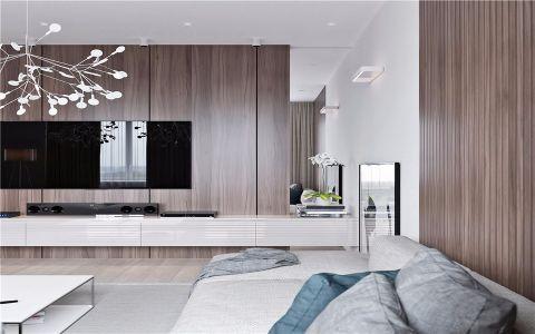 客厅细节现代简约风格效果图