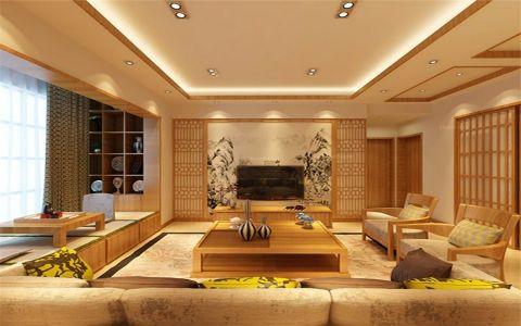 名城国际167平米日式风格三居室装修效果图