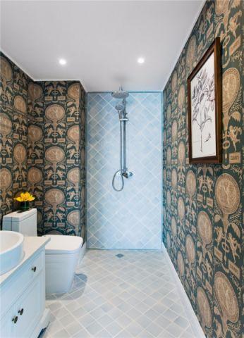 卫生间细节美式风格装饰设计图片