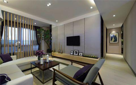 客厅米色走廊现代简约风格装饰效果图