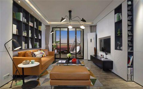 绿地香颂170平米现代简约风格三室装修效果图
