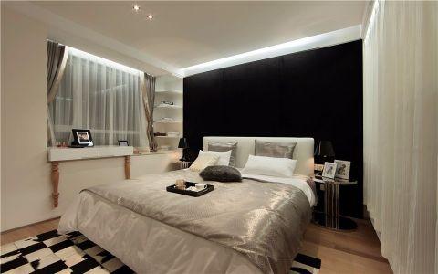 卧室飘窗现代简约风格装饰设计图片