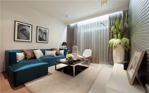 新城南都140平米现代简约风格两室装修效果图