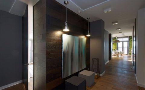 梧桐香郡180平米现代简约风格三室装修效果图