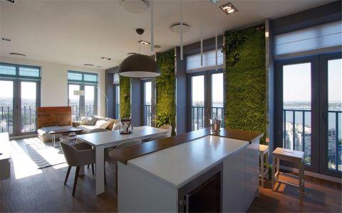 客厅窗台现代简约风格装修效果图