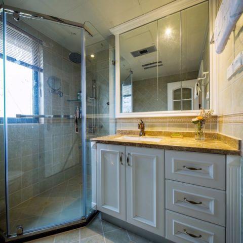 卫生间窗台混搭风格装修图片