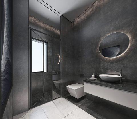 卫生间推拉门现代简约风格装饰图片