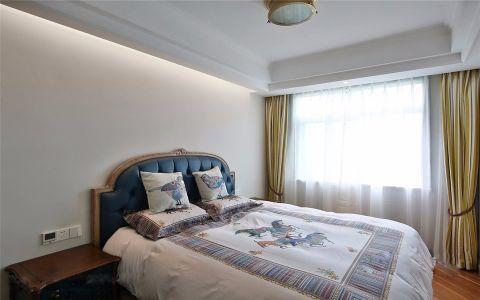卧室窗帘现代欧式风格装饰图片