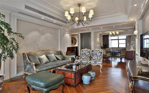 客厅吊顶现代欧式风格装潢图片