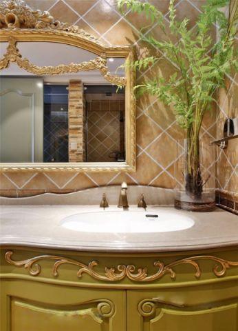 卫生间橱柜现代欧式风格装饰设计图片