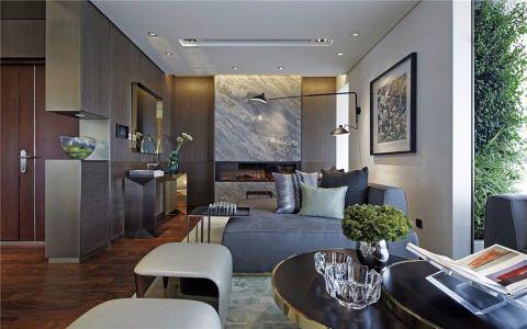 星河国际360平米复式现代简约风格三室装修效果图
