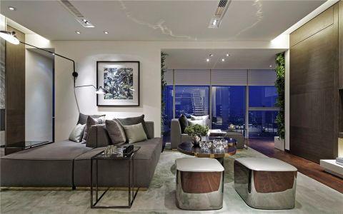 客厅飘窗现代简约风格装修图片