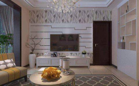 十五城100平方美式风格二居室装修效果图