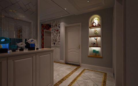 凯旋门89平米北欧风格三居室装修效果图