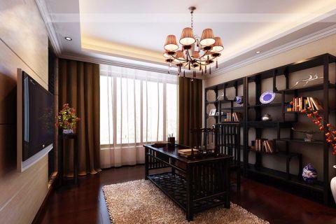 马坡镇泰和宜园136平米中式风格案例