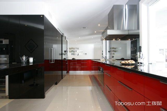 温馨舒适现代风格厨房装修效果图
