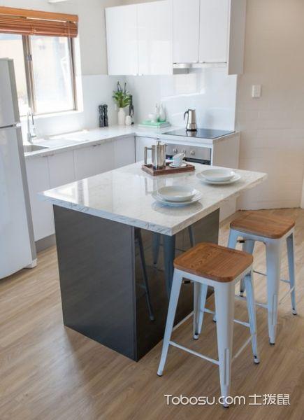 个性休闲现代风格厨房装修效果图