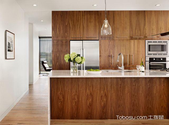 完美舒适现代风格厨房装修效果图