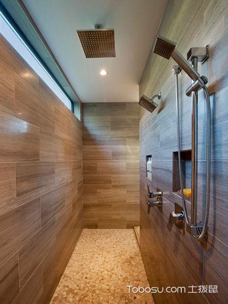简约现代风格浴室装修效果图