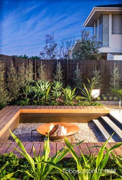 个性休闲现代风格花园装修效果图