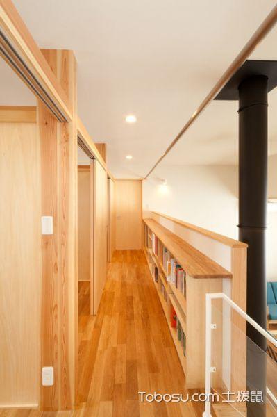 休闲质感现代风格走廊装修效果图