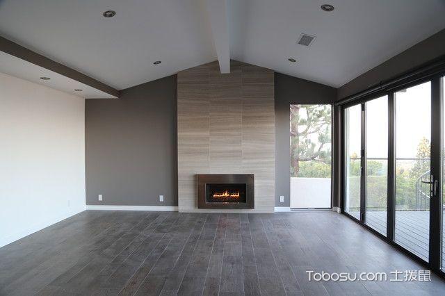 休闲质感现代风格客厅装修效果图_土拨鼠2017装修图片大全