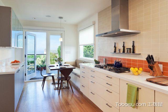 大气沉稳现代风格厨房装修效果图
