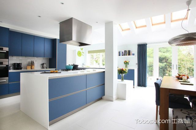 精致现代风格厨房装修效果图
