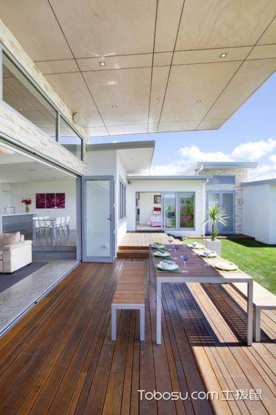 干净舒适现代风格阳台装修效果图