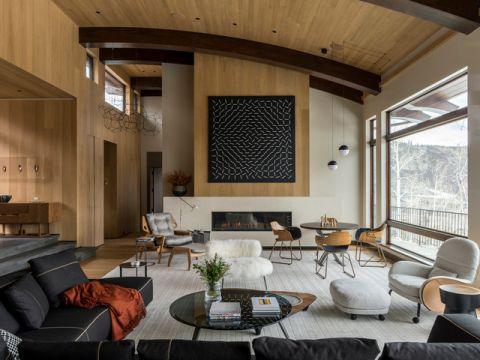 奢华现代风格客厅装修效果图