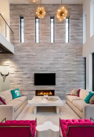 品质生活现代风格客厅装修效果图