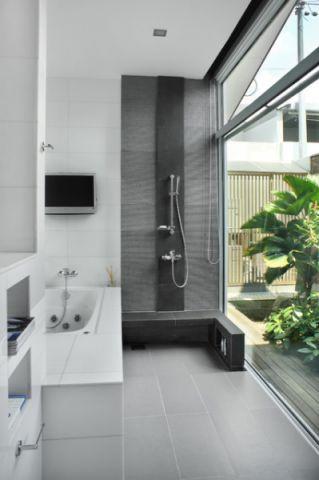 奢华现代风格浴室装修效果图