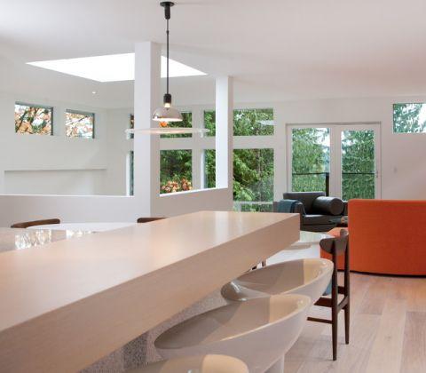 客厅吧台现代风格装潢图片