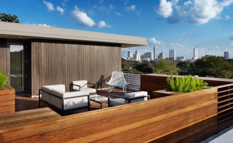 阳台外墙现代风格装修图片
