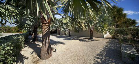 花园外墙现代风格装潢设计图片