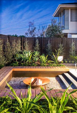 个性休闲现代风格花园装修效果图_土拨鼠2017装修图片大全