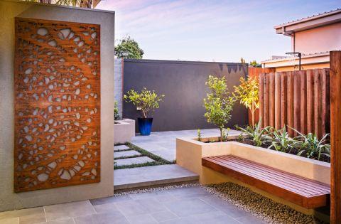 花园外墙现代风格装修设计图片