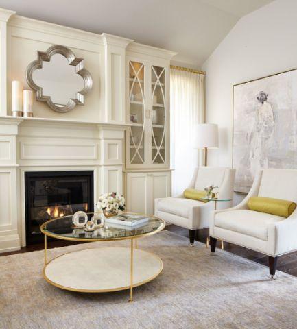 典雅现代风格客厅装修效果图