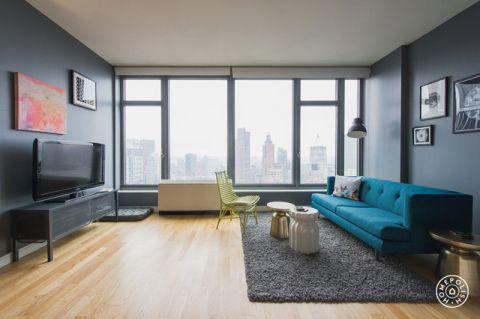 清新雅致现代风格客厅装修效果图